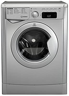 Indesit EWDE7125S Freestanding B Rated Washer Dryer - Silver by AO