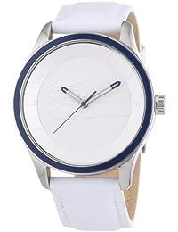 Lacoste Damen-Armbanduhr Victoria Analog Quarz Leder 2000836