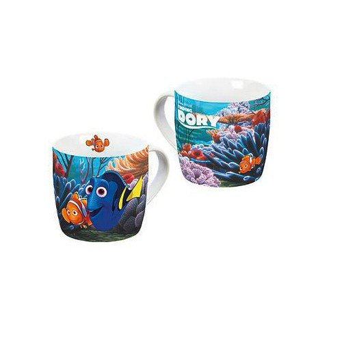 Disney findet Dori 12791 Taza de porcelana, multicolor