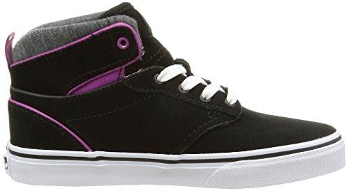 Vans - Z Atwood Hi Mte, Sneaker Bambina Blu (Mte/Black/Deep Orchid)