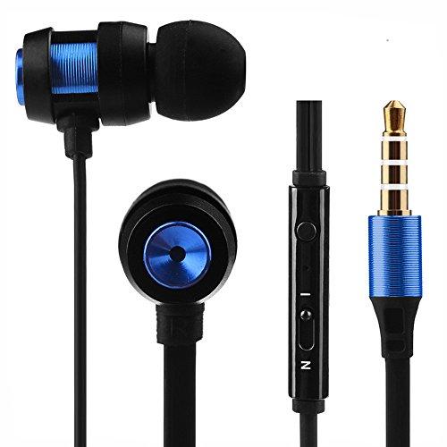 MIRRAY Super Bass Stereo Auriculares Deportivos con Auriculares en la Oreja para Iphone7 BU
