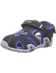Geox Sandal Kraze A, Botines de Senderismo, Bebé-Niñas