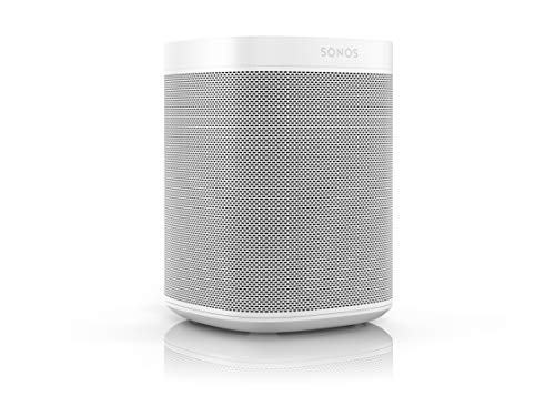 Sonos One Smart Speaker - Altavoz WLAN Inteligente con Control por Voz...