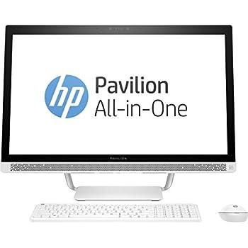 """HP Pavilion 27-a200ns - Ordenador de sobremesa de 27"""" Full HD (Intel Core i7-7700T, 8 GB de RAM, 1 TB de disco duro, Nvidia GeForce 930MX, Windows 10 Home 64) color blanco nieve - con teclado y ratón"""