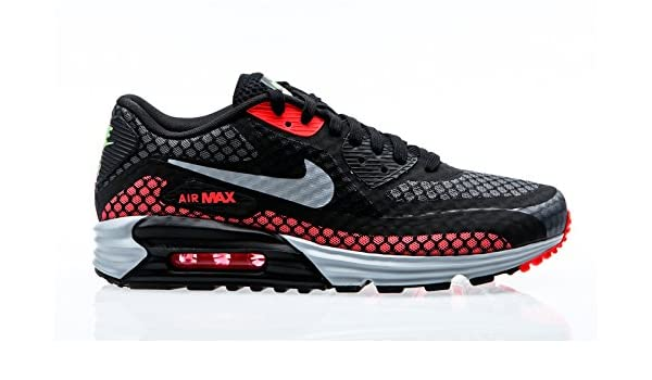 Nike Air Max Lunar90 Breeze, black silver hot lava viper