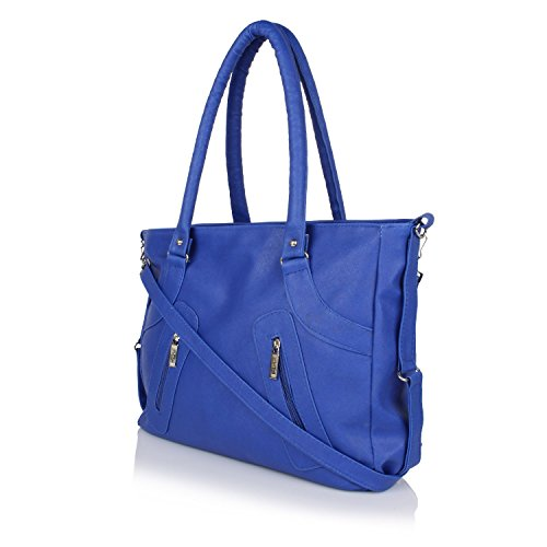 Nandini Home Women\'s Stylish Handbag ( Blue Bag )