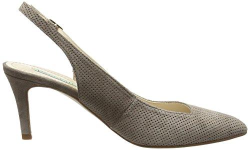 Paco Gil P3012 - Scarpe con Tacco Donna Beige (Beige (Tortora))