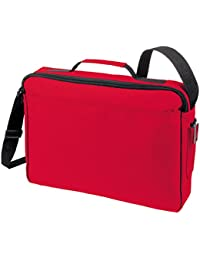 HALFAR - sac cartable sacoche bandoulière porte-documents 1805510 - rouge