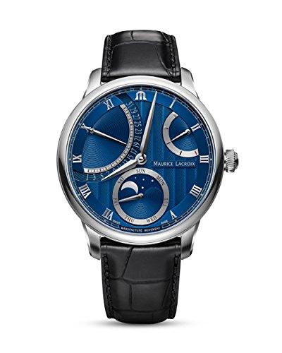 Maurice Lacroix suizo Reloj Automático Lune-Retro Grade mp6588de SS001-431-1