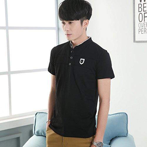 MTTROLI Herren T-Shirt Schwarz