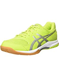 Asics Herren Gel-Rocket 8 Volleyballschuhe, Gelb (Energy Green/Silver/White 7793), 39.5 EU