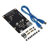 MakerHawk Raspberry Pi X850 mSATA SSD Speichererweiterungsplatine Upgrade-Version für Raspberry Pi 3 Modell B / 2B / B +