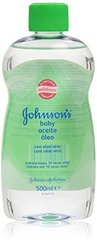 Johnson's baby - Baby aceite aloe vera, 500 ml