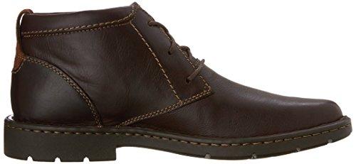 Clarks Stratton Limit Chukka Boot brown