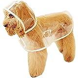 Haustier Hund Regenmantel Regen-Mantel-Jacke Wasserdicht Glatte Kleidung (S)