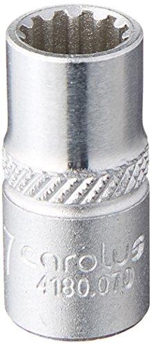 CAROLUS 4180.070 Steckschlüsseleinsatz 1/4″ Spline 7 mm