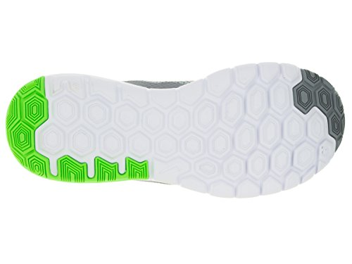 Nike Wmns Flex Experience Rn 4, Chaussures de Running Compétition Femme Wolf Grey/Hyper Pink/Vltg Grn/White