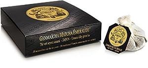 Mariage Frères - GENMAÏCHA MATCHA ÉMERAUDE (NOUVEAU!!) - Boîte de 30 sachets mousseline de thé