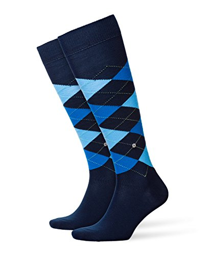 Burlington - king, calze uomo, blu (marine 6121), 40/46 (taglia produttore: 40-46)