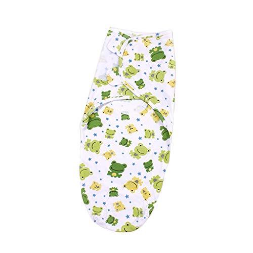 Baoblaze Pucksack/Pucktuch Baby/Strampelsack Pucksack Baby für Neugeborene - Frosch