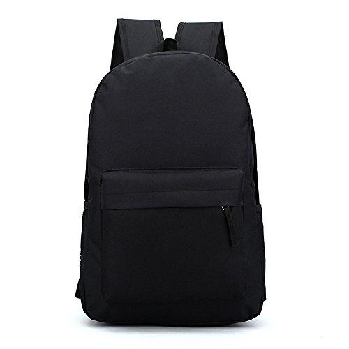 Anne , Damen Rucksackhandtasche schwarz gelb Schwarz