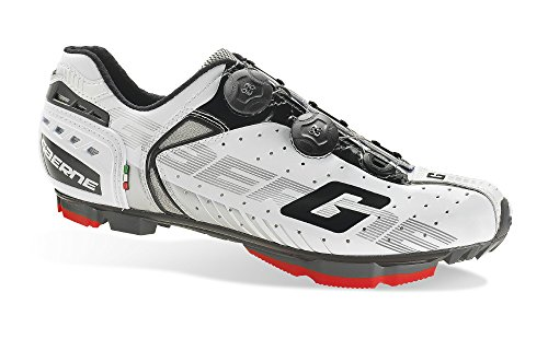 Soul Rebel Cyclisme - GA Gaerne–Zapatos de ciclismo–3477–004g-kobra White, Blanco (blanco), 48