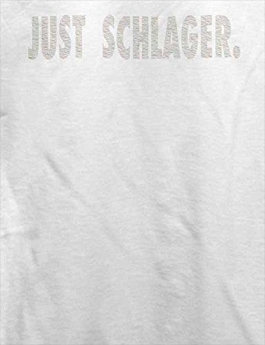 Just Schlager T-Shirt Weiß