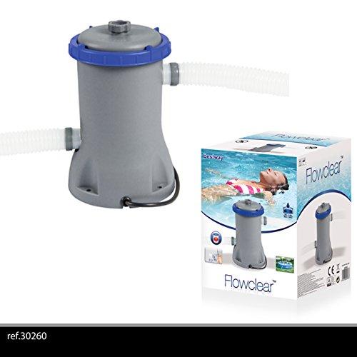 Bestway 8320525 Depuradora Piscina 2,006 Litros/Hora (Filtro II)