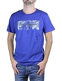 Pepe jeans - Pepe jeans - Tee-shirt homme MC CHARON bleu