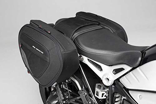 SW-Motech Set de 556-891 Blaze H Selle de Poches. Noir/Gris. pour BMW R de ninet (14), Pure/GS (16).