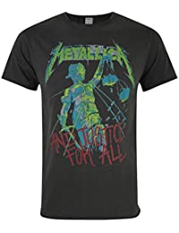 Amplified Metallica Justice For All Men's T-Shirt