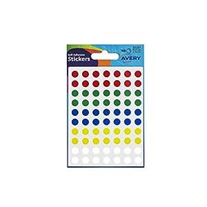 Avery Etiketten Durchmesser .8 mm im Passenden Design Ref 32-291 416-Etiketten