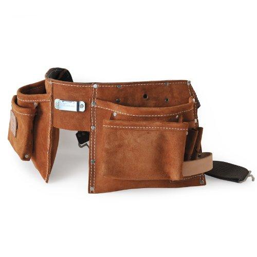 Leather Heritage 491 10-Pocket Praktische Man's Helper Suede Schürze (Leather Tool Pocket 10)