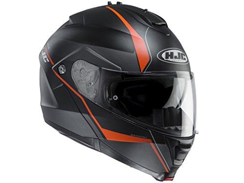 HJC IS-MAX II Mine Klapphelm XXL (63/64) Schwarz Matt/Orange