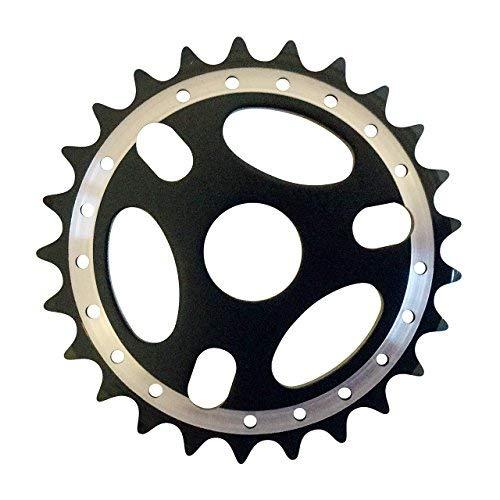Cervus Hohe Qualität Bike Legierung BMX Kurbel Kettenblatt Zähne: 25schwarz