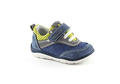 PRIMIGI 75253 blau Babyschuhe Jeans niedrigen Zerreißen sneaker Blu