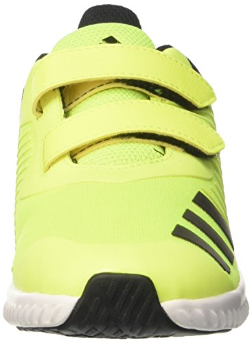 adidas Unisex-Kinder Fortarun Cf K Sneakers Gelb (Syello/Ftwwht/Cblack)