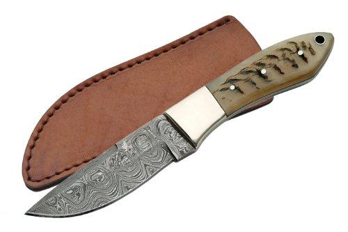 Damascus Coltello da caccia Hunter