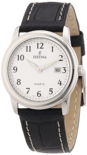 Festina Women's Quartz Watch F16517/1 with Leather Strap