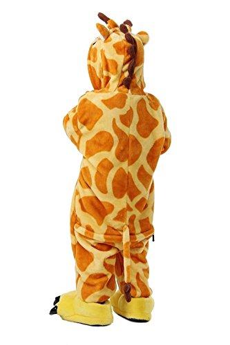 LATH.Pin per bambini Unisex Jumpsuits One–Suit pigiami pigiama Halloween Carnevale tierkomstüme Elefante
