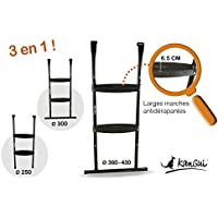 Kangui - Echelle Multi-Taille Universelle pour Trampoline Ronds
