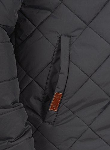 BLEND Herren Divior Übergangsjacke Stepp-Jacke mit Kapuze aus winddichter und hochwertiger Materialqualität Phantom Grey (70010)