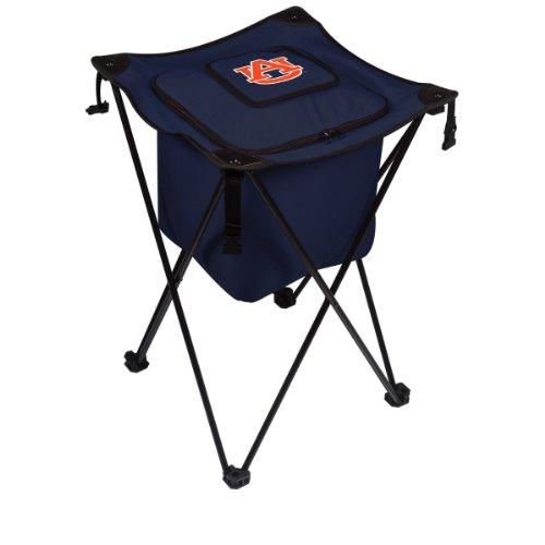 Picnic Time NCAA Sidekick Isolierter tragbarer Kühler mit integrierten Beinen, Herren Unisex-Erwachsene Damen, weiß Tiger Stand Bag