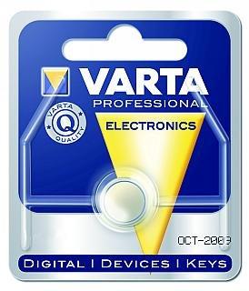 VARTA pile bouton oxyde d'argent, v391–uhrenbatterie 40mAh