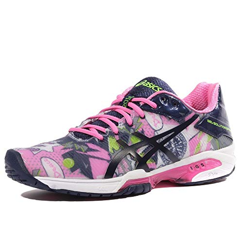 ASICS Gel-Solution Speed 3 L.E. N.Y.C Women's Scarpe da Terra Battuta - 40
