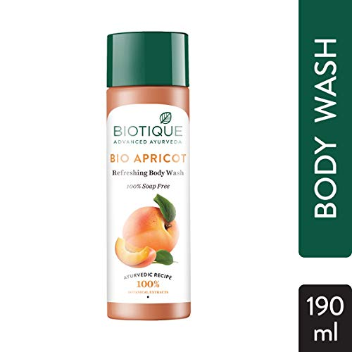 Biotique Bio Apricot Refreshing Body Wash, 190ml