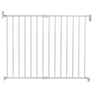 Munchkin Lindam - Barrera metálica de seguridad extensible de montaje fijo en pared, color blanco (B00I03NI6W) | Amazon Products