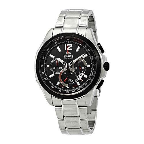 Orient Sport Chronograph Black Dial Ladies Watch FSY00001B