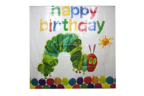 World of Eric Carle, The Very Hungry Caterpillar Party Supplies, großes Bild Wanddekoration