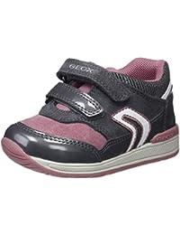 Geox B Rishon Girl A, Zapatillas para Bebés